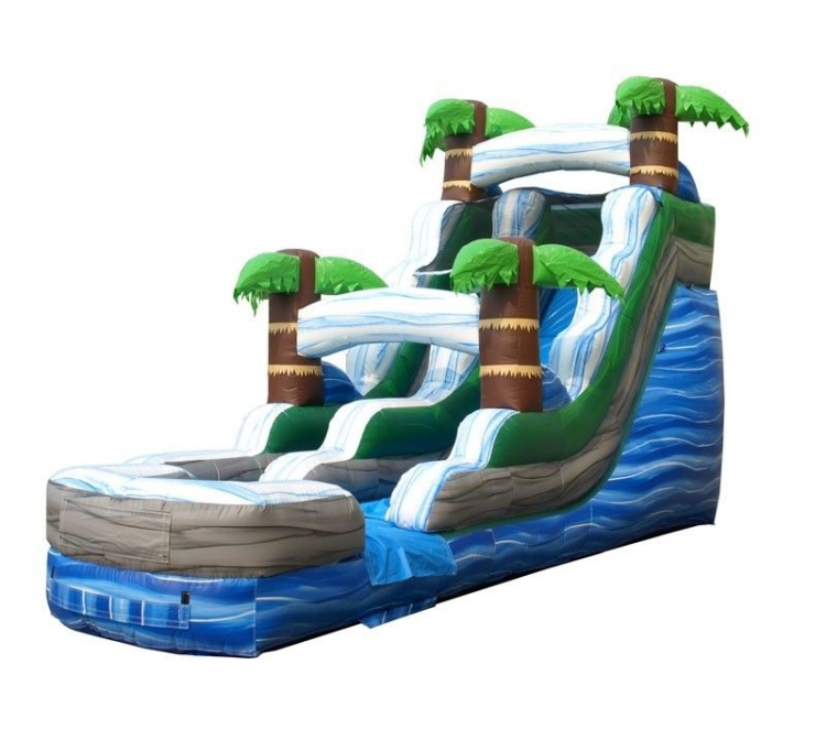 Water Slides and Dry Use Slides