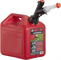2 Gallon FULL Gas Can for Generator