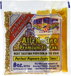 $3.50- Extra Portions of Popcorn, Oil, and Salt Bag