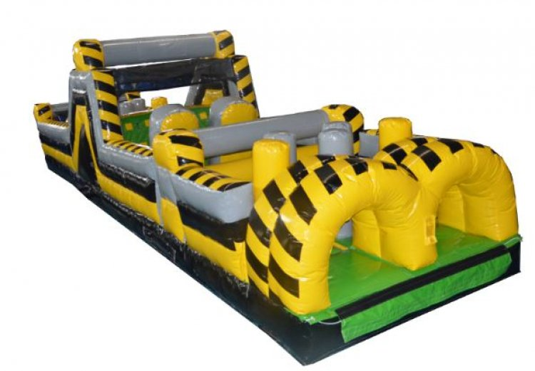 40 Foot Steelers Obstacle Course